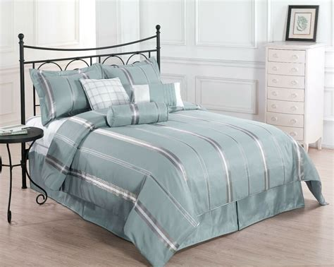 Discounted Comforter Sets by Sale Park Avenue 7pc Comforter Set Blue Gold Bed