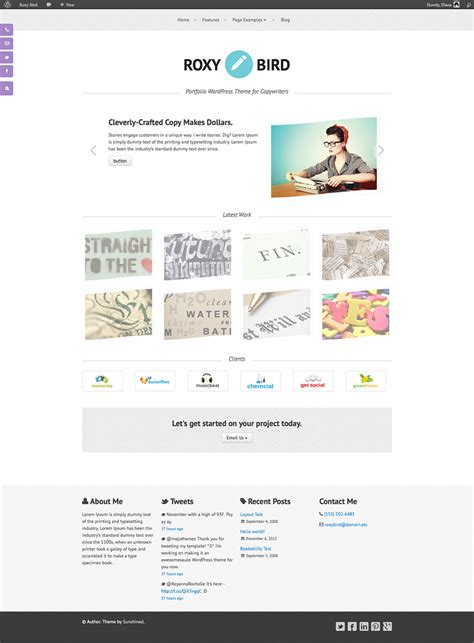 10 Best Copywriters Wordpress Templates Themes Free Premium Templates Free Copywriting Templates