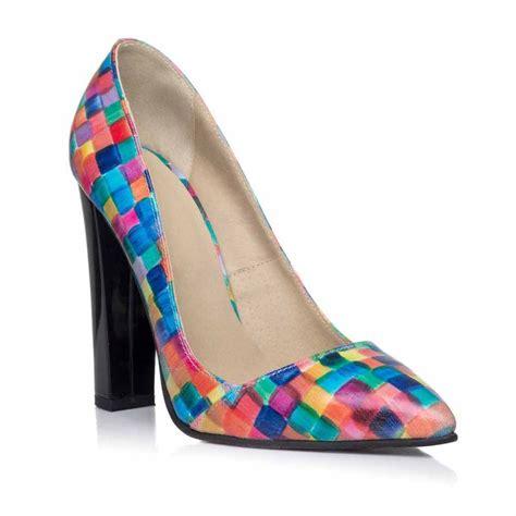 color wear pantofi stiletto color wear