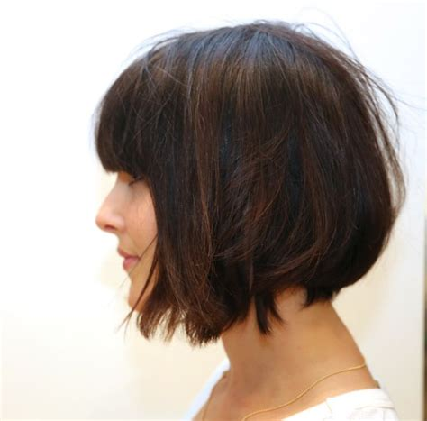 how does the long bob look cute growing out look a textured and grown up long bob