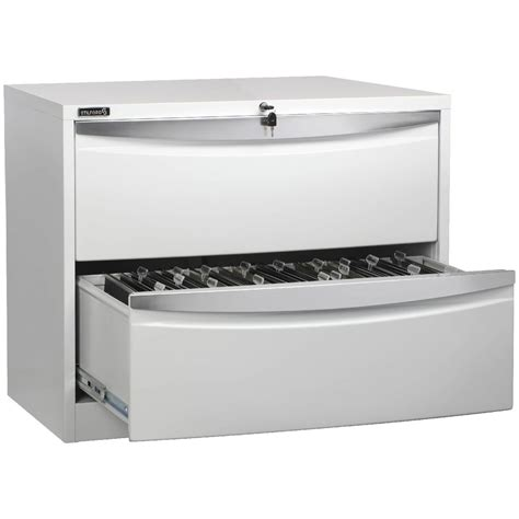 White Lateral File Cabinet 2 Drawer Stilford 2 Drawer Lateral Filing Cabinet White Officeworks