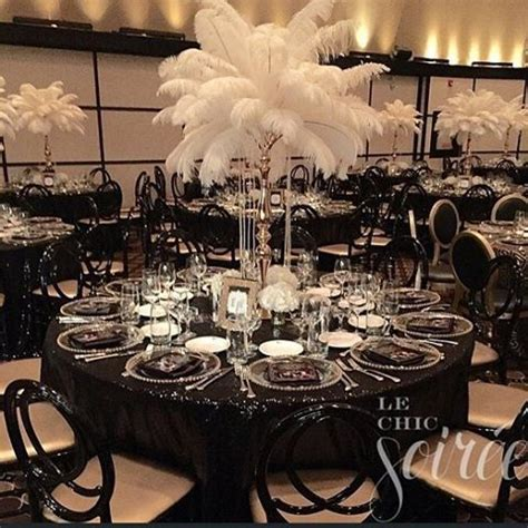 Gatsby Decor by 15 Glamorous Great Gatsby Wedding Decorations Page 9 Of