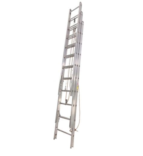 duo safety three section extension ladders clarey s