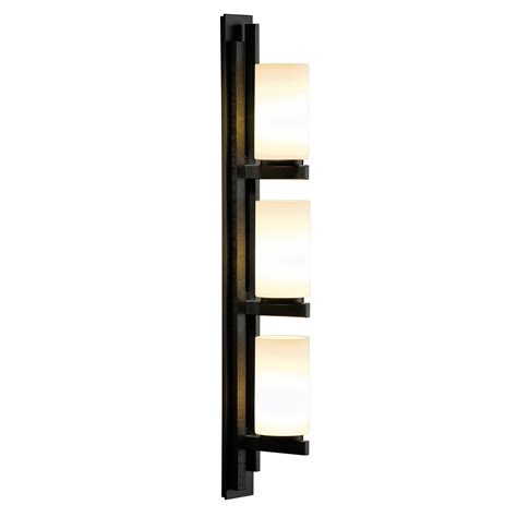 Vertical Wall Sconce Ondrian Right Vertical 3 Light Wall Sconce By Hubbardton Forge 206309r 07 G168
