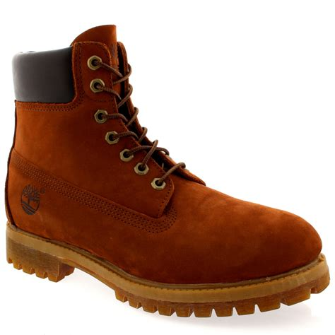 mens timberland classic 6 premium nubuck lace up smart