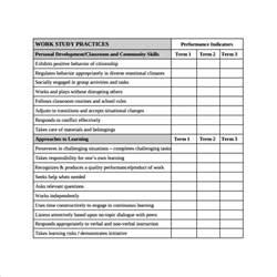 preschool progress report template sle progress report card template 11 free documents