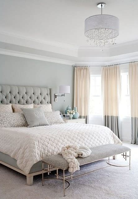 modern  chic european style bedroom traditional