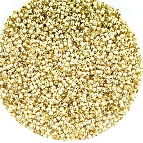 crimp bead light gold crimp