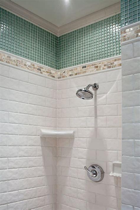 Tiled Shower Bathroom Inspiration Pinterest