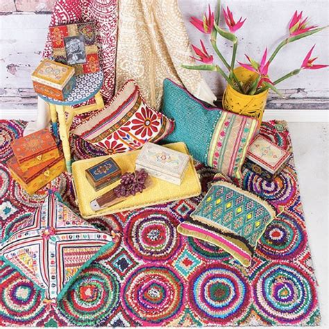 Colours Home Decor boho style comes to gift melbourne reed gift fairs