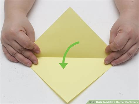 How To Make A Bookmark Out Of Paper For - 3 ways to make a corner bookmark wikihow