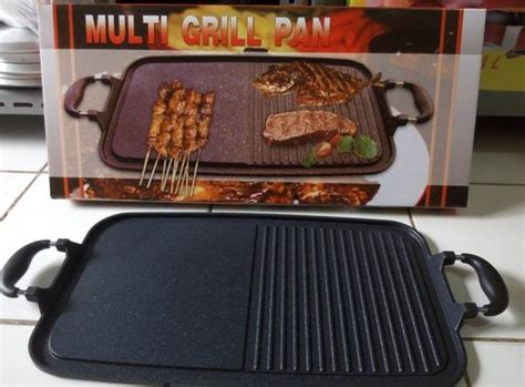 multi grill pan panggangan multiguna wajan bakar sehat