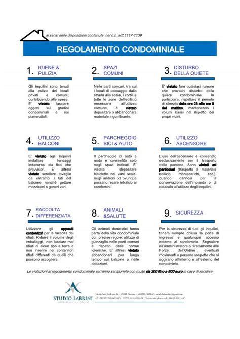 Regole Di Condominio by Il Regolamento Di Condominio La Legge E Le Buone Pratiche