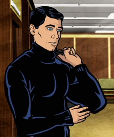 sterling archer archer wiki turtleneck archer wiki