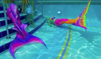 colorful mermaid tails mermaid pool specialty vip events mermaid events