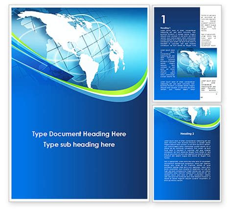 presentation templates word company presentation word template 10183 poweredtemplate