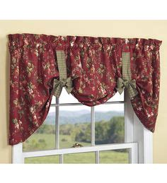 esszimmer bay window behandlungen reversible valances sewing pattern miniaturas para hacer