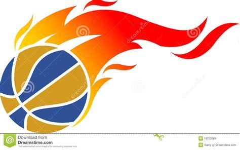 bol l design fire ball logo stock images image 19273784