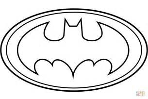 Batman Logo Coloring Page batman logo coloring page free printable coloring pages