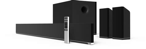 vizio 54 5 1 home theater sound bar system with wireless