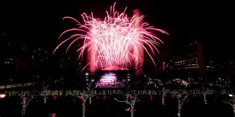 new year toronto new year s fireworks the best places in canada to