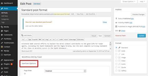 blogger help setting up blog listing page and blog posts vamtam help desk