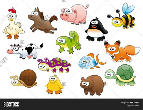 Imagenes De Animales Animadas | cartoon animals pets vector photo bigstock