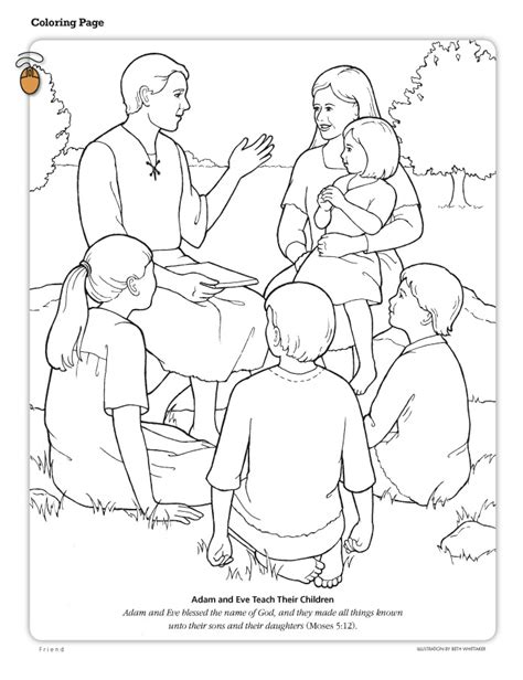 lds coloring pages heavenly father lds color pages az coloring pages