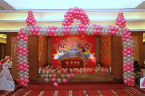 theme decoration princess theme party confetti party planners