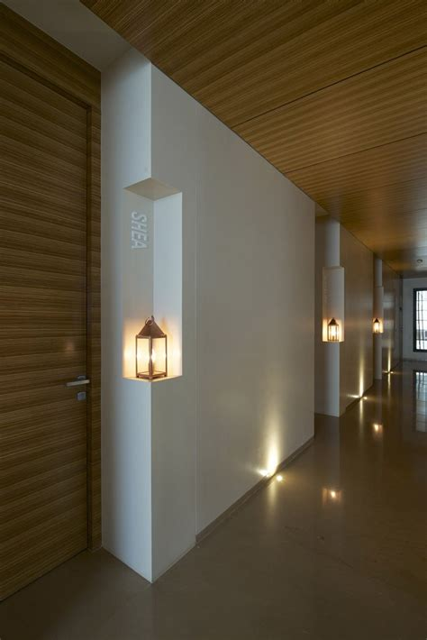 design house brand lighting design detail recessed spaces for lanterns to light up a