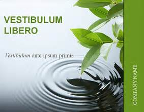 nature powerpoint templates free nature business powerpoint template