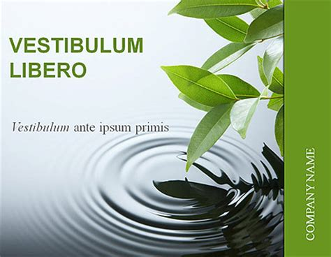 nature powerpoint templates free nature business microsoft powerpoint template id 300110724
