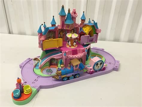 doll house play set disney princess castle magic kingdom polly pocket dollhouse playset ebay