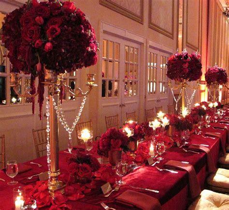 Regal & Royal   gold candelabra, red roses   Shaadi