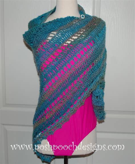 vacation crochet shawl allfreecrochet