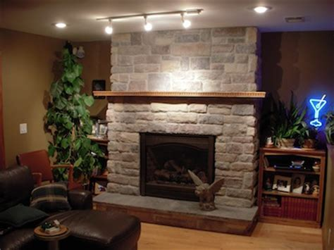 basement fireplace tile contractor creative tile