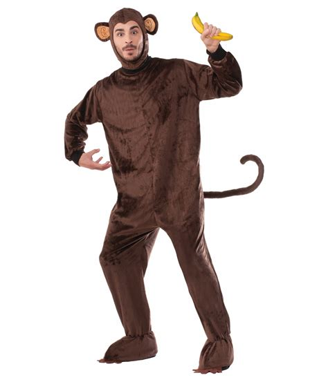 monkey costume monkey brown mascot costume animal costumes
