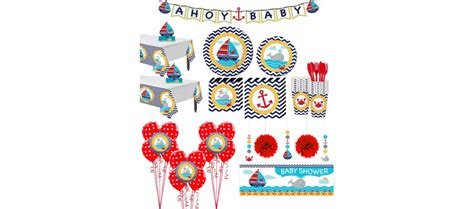 Ahoy Baby Shower Decorations by Ahoy Nautical Baby Shower Supplies City