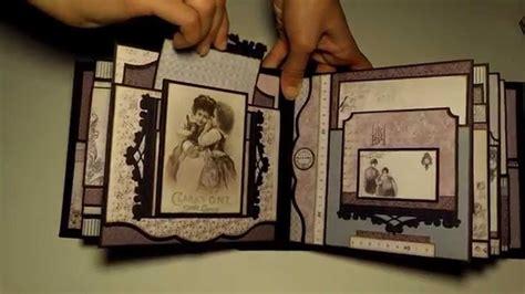 tutorial album scrapbooking español alma s sewing room album pdf tutorial youtube