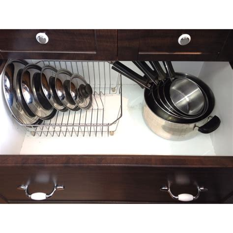 Saucepan Lid Storage 1000 Images About Pot Lid Storage On