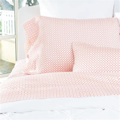 coral bed sheets printed sheets the morning glory coral crane canopy