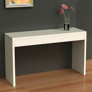 Lack Sofa Table White Hall Console Table Review Convenience Concepts