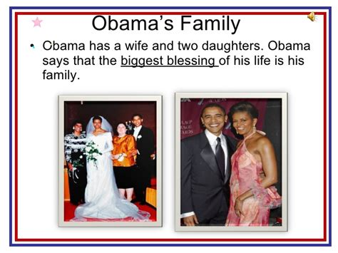barack obama biography presentation barack obama and his family