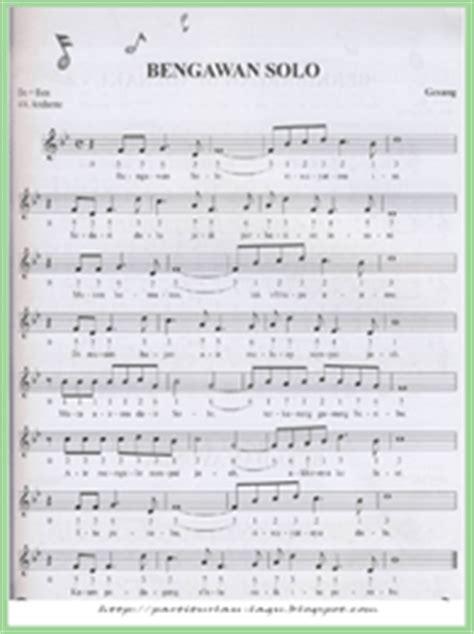 download mp3 barat solo partitur lagu lagu lagu bengawan solo not angka not balok