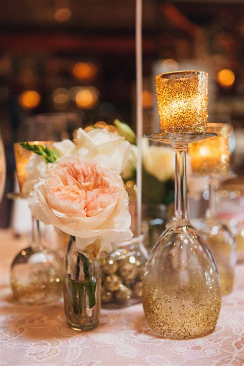 pink bridal shower centerpieces pink and gold glitter bridal shower the majestic vision