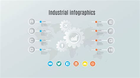 Prezi Design Templates industrial infographics prezi template
