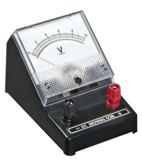meter to nsaw educational voltmeter 10 volt available at snapdeal