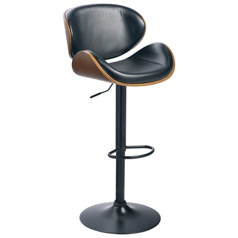 Molded Plywood Bar Stool by Signature Design By Adjustable Height Barstools