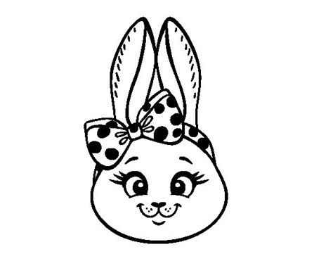 girl bunny coloring pages bunny girl face coloring page coloringcrew com