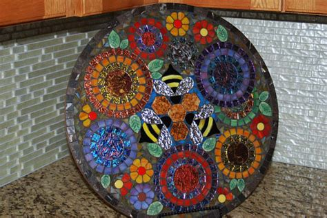 diy mosaic design ideas  tile rocks  glass